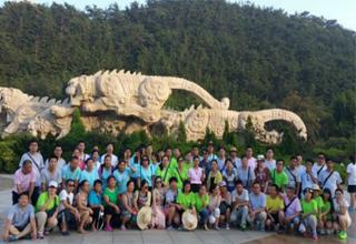 """8月11日至13日,博康健组织全员前往魅力无限的海滨城市""""大连"""""""