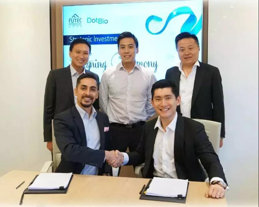 联康集团携手富德集团,与DotBio建立战略伙伴关系